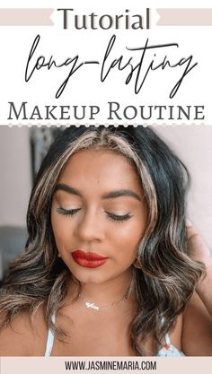 Are you looking for tips on how you can make your makeup last a long time? I got you covered. I am sharing a few tips   Long-Lasting Makeup Routine tutorial. #makeuptutorial #longlastingmakeup #makeuptips #howto