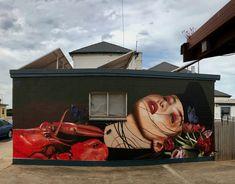 Lisa King for Colourtumbystreetart in Tumby Bay, South Australia, 2018