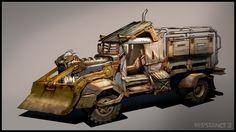 R3 Prison Warden Truck by ~MeckanicalMind on deviantART