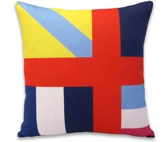Colorful Mod Pillow