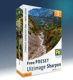 Free Lightroom Preset: Ultimate Sharpen Set