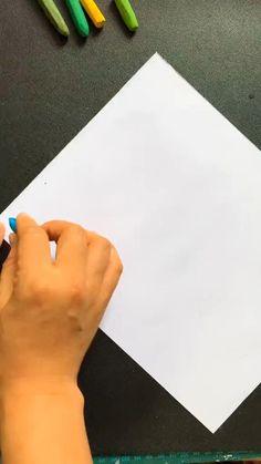 Oil Pastel Drawings Easy, Art Drawings Sketches Simple, Oil Pastel Art, Art Drawings For Kids, Oil Pastels, Simple Canvas Paintings, Diy Canvas Art, Art Painting Gallery, Pencil Art Drawings