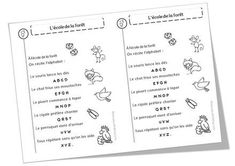 Poèmes alphabet, lettres et voyelles Bullet Journal, Alphabet Poem, Songs, Billboard, Letters, 1st Grades, Learning