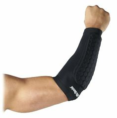 Amazon.com : McDavid Hexpad Arm Sleeve : Football Hand And Arm Pads : Sports & Outdoors