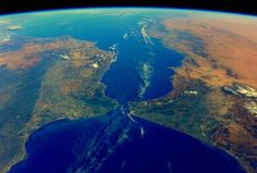 tim Kopra  2 mar Houston Strait of Gibraltar - 9 miles separating Europe and Africa Earth And Space, Rock Of Gibraltar, Planets And Moons, Europe Holidays, Space And Astronomy, Aerial Photography, Photos Du, Aerial View, Geology