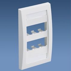 CFPE6WH: Panduit Faceplate, 6 Port, Single Gang, Executive White, Pack of 4 Panduit http://www.amazon.com/dp/B001QBVCOA/ref=cm_sw_r_pi_dp_hOqlwb1JVB3YK