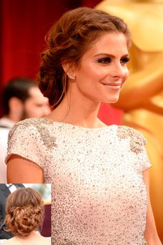 Recreate Maria Menounos' Grecian goddess braids with Lorena Garcia, featuring products by Farouk.