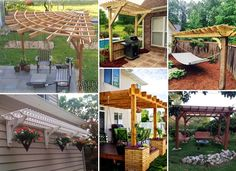 Pergola Projects Provide Enjoyable Yard or Garden Stay