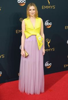 Laura Carmichael at the 2016 Emmy Awards.