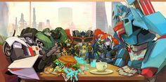Fan Art Friday: Transformers by techgnotic on DeviantArt Transformers Bumblebee, Original Transformers, Transformers Optimus Prime, Transformers Characters, Ultra Magnus, My Burger, Just In Case, Fan Art, Artwork