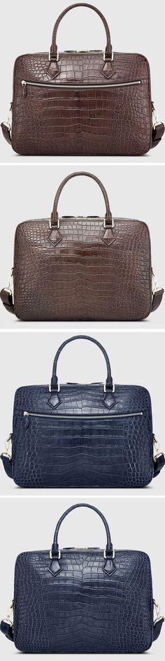 Alligator Bags, Luxury Alligator Briefcases for Men
