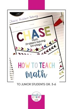 How to teach Math to junior students, grade 3-6. Number Sense, Teaching Math, Problem Solving, Student, Learning, Studying, Teaching, Onderwijs