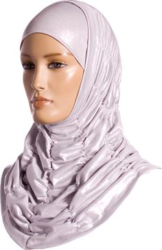 Hijab - Two Piece - Party Wear - Moonlight Silver http://www.muslimbase.com/clothing/hijabs/two-piece-hijab/hijab-piece-party-wear-moonlight-silver-p-6587.html