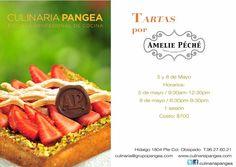 Tartas por Amelie Péché / Culinaria Pangea / Mty / 5 u 8 Mayo