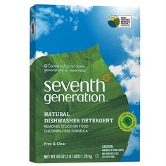 Seventh Generation Automatic Dishwasher Detergent Free & Clear (EWG: A)