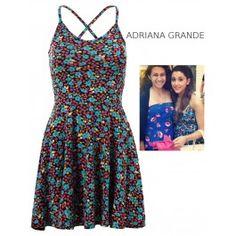Vestido de Vuelo Corto con Flores MS855 Summer Shorts, Summer Dresses, Fashion, Summer Outfit, Hot Clothes, Dress Shops, Spring Fashion, Fashion Trends, Celebs