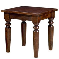 Hardwood end table - World market - Sourav End Table - $89.99 on sale  Rustic, country, lodge, cabin