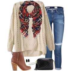A fashion look from November 2014 featuring AG Adriano Goldschmied jeans, SPURR ankle booties and Chanel handbags. Browse and shop related looks. Mom Outfits, Classy Outfits, Pretty Outfits, Casual Outfits, Cute Outfits, Fashion Outfits, Womens Fashion, Fashion Trends, Fashion Clothes