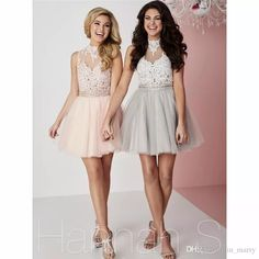 Fashion Sexy Keyhole Back Short Homecoming Dresses 2016 A Line High Neck Illusion Vintage Lace Plus Size Cocktail Party Gowns For Sweet Girl Short Homecoming Gowns Plus Size Prom Dresses Cheap Homecoming Dresses Online with $137.15/Piece on In_marry's Store | DHgate.com