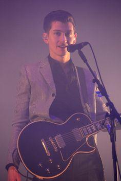 Alex Turner at Glastonbury 2013