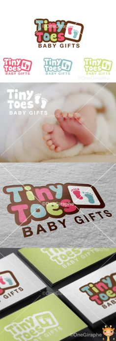 Tiny Toes #baby #logo #logodesign #cute #graphic#design #designer #portfolio…