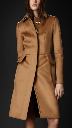 Tailored Peplum Coat | Burberry