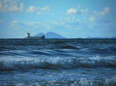 A Seascape, … SPAIN, Mediterranean , Boats, Waves, Sea, Torrevieja, España by Alexandra Cook on EyeEm - LinanDara's Art-n-Folk