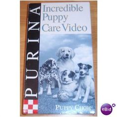 Incredible Puppy Care Video VHS Tape Listing in the Training,Dogs,Pets,Home & Garden Category on eBid United States | 145467577