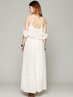 890be72ef22a Open Shoulder Maxi Dress Free People, Dress Skirt, Maxi Dresses, Style Me,
