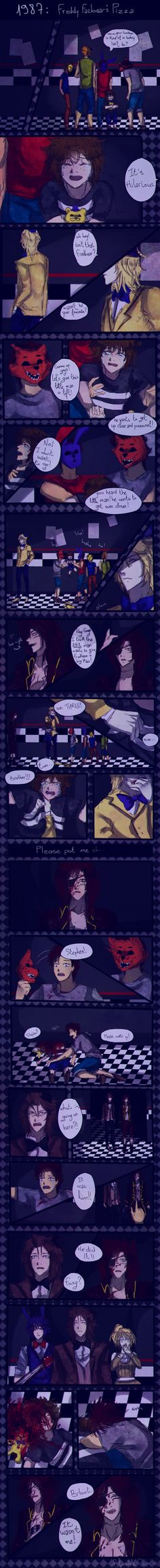 YES I DID IT I HAD THE GUTS TO MAKE ANOTHER COMIC YES I Just, Hope I'll Finish It I Have Two Reasons Why I Made It : First , To Show My AU. I Prefer Making Comics Than Writting. Sec Of All Is, I'm ...