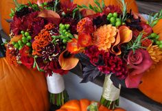 Popular Fall Wedding Colors | Download Wallpaper Fall Wedding Colors 2680x1844 Country Bouquets ...
