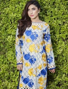 Luxury pret winter traditional wear is the new collection for women by Cross Stitch brand to wear on parties and events in winter see every different dress from this collection below. Kurti Sleeves Design, Sleeves Designs For Dresses, Neck Designs For Suits, Kurta Neck Design, Dress Neck Designs, Simple Pakistani Dresses, Pakistani Fashion Casual, Pakistani Dress Design, Stylish Dress Designs