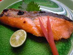 Yaki-zakana ( Saumon grillé ) 塩鮭