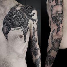 Tattoo by Maxime Büchi / M—X—M