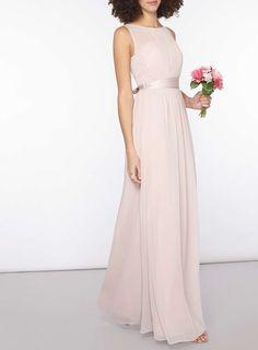 Womens **Showcase Tall Blush 'Natalie' Maxi Dress- Blush