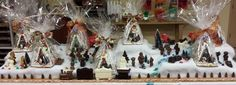 Gingerbread house and chocolate village 2014