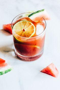 Watermelon Iced Tea — The Whole Bite