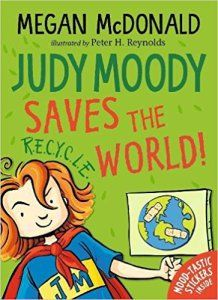 Judy Moody Saves the World book cover
