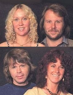 ABBA as two divorced couples working on the The Visitors album in the summer of 1981