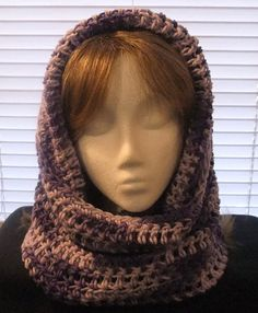 Free Crochet Pattern For Hooded Cowl With Ears : 1000+ images about crochet hooded cowls on Pinterest ...
