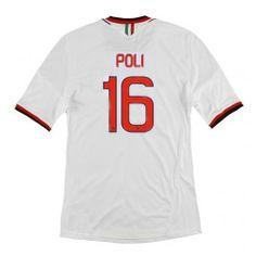 Maillot de Foot AC Milan (16 Poli) Exterieur 2013 2014 blanc Pas Cher http://www.korsel.net/maillot-de-foot-ac-milan-16-poli-exterieur-2013-2014-blanc-pas-cher-p-2919.html