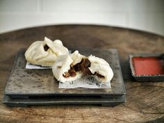Learning how to make Chinese barbecue pork bun (char siu bao) for my family - Chubby Hubby