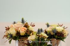 rustic chic wedding flowers by Stacy K Floral in Rochester NY © McKay's Photography
