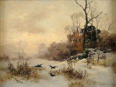Carl Küstner - Winter Morning | por irinaraquel