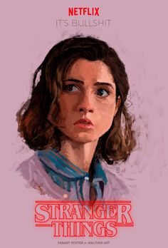 Stranger Things 2 - Nancy   By Walther Art
