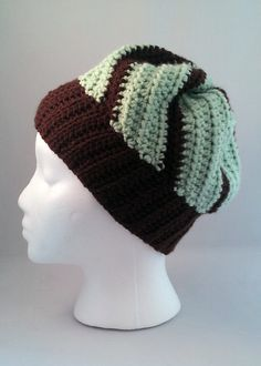 Mint Chocolate Cupcake Hat by YarrHooked