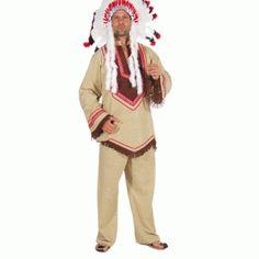Indianen pakken heren Cacique - Webtopper.net