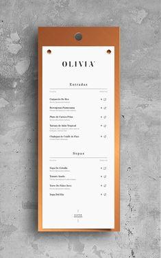 Olivia Bistró para Bunker3022 on Branding Served