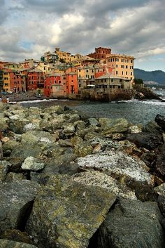 """#Genova, in Liguria, has been nicknamed la Superba (""""the Proud one"""") due to its glorious past and impressive landmarks."""