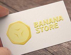 "Check out new work on my @Behance portfolio: ""BANANA store LOGO"" http://on.be.net/1OJwaIc"